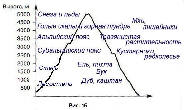 В каких горах России наиболее
