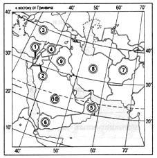 Параграф 56. Регионы Азии: Юго-Западная и Восточная Азия.