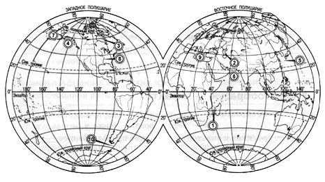 Параграф 8. Воздушные массы и климатические пояса.