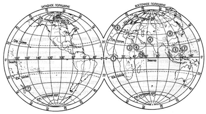 Параграф 10. Мировой океан и его части.
