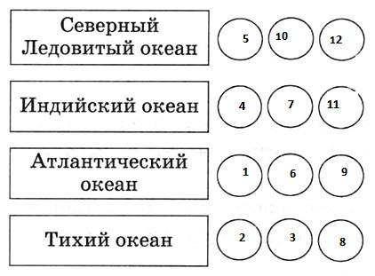 Параграф 13. Особенности отдельных океанов.