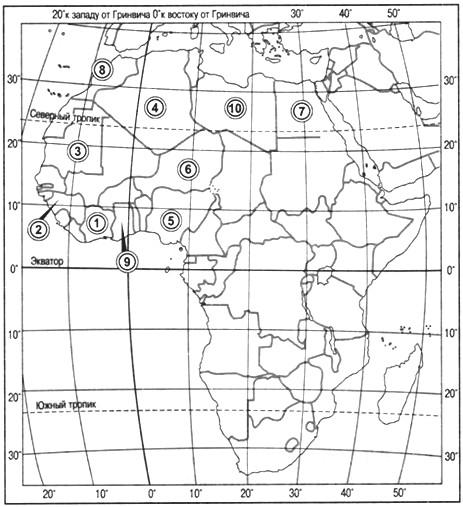 Параграф 26. Регионы Африки: Северная и Западная Африка.