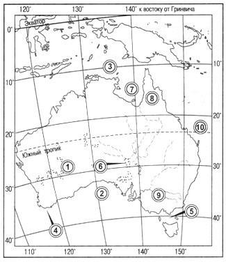Параграф 28. Географическое положение Австралии.