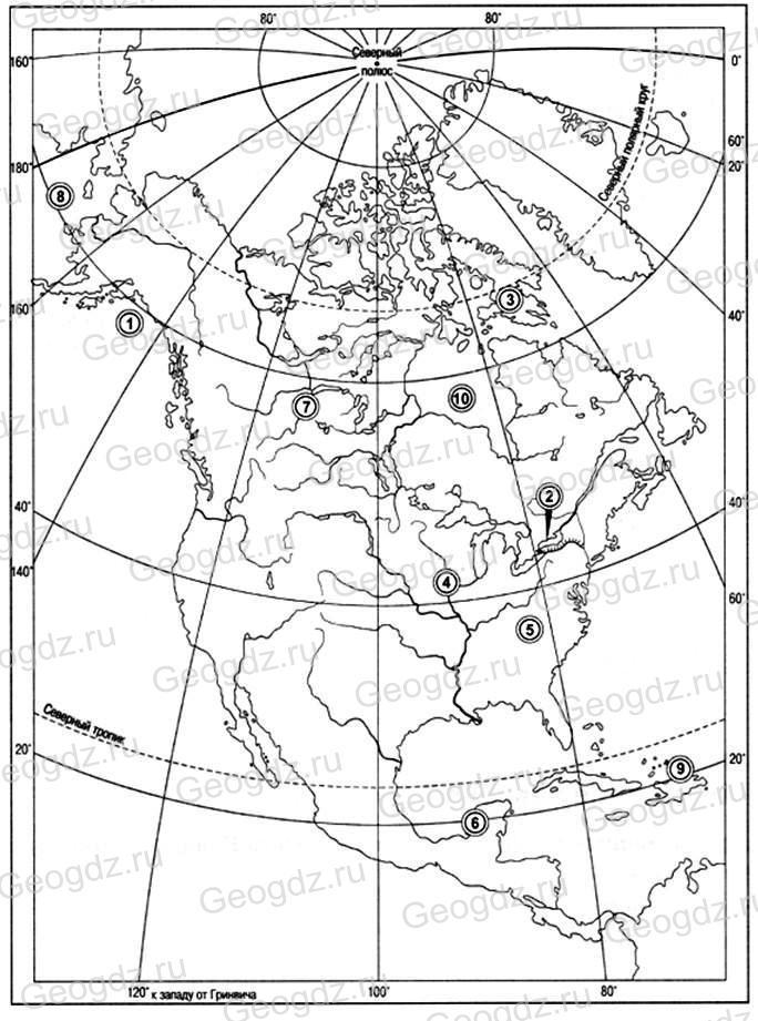 Параграф 46. Разнообразие природы Северной Америки.