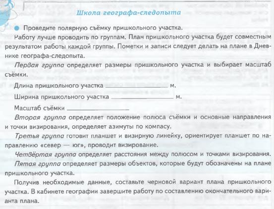 Урок 10. Как составляют топографические планы и карты (§ 10)